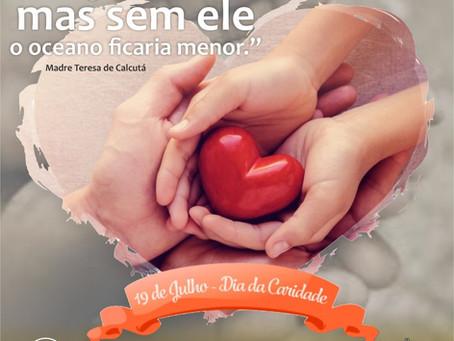 19 de julho dia da Caridade