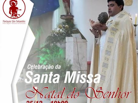 25/12/2020 - Solenidade do Natal do Senhor