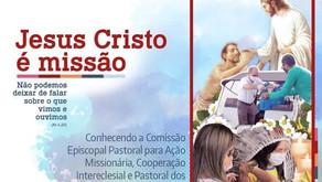 """15/10/21 - Live Missionária: """"Conhecendo a Comissão Episcopal Pastoral para Ação Missionária, Cooper"""