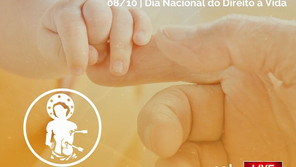 08/10/21 - Santa Missa em Ação de  Graças  pelo Dia Nacional do direito a Vida