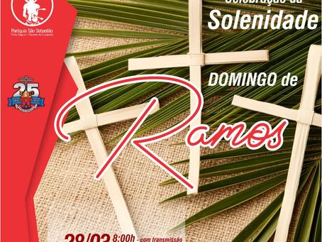 28/03/2021 - Solenidade do Domingo de Ramos