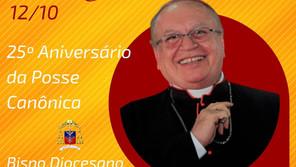 25º Aniversário de posse Canônica de Dom José Edson!!