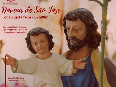 Toda Quarta-Feira: Novena Perpétua de São José