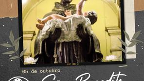 05/10 - Dia de São Benedito, o Negro