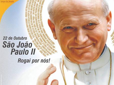 22 de outubro - Dia de São João Paulo II