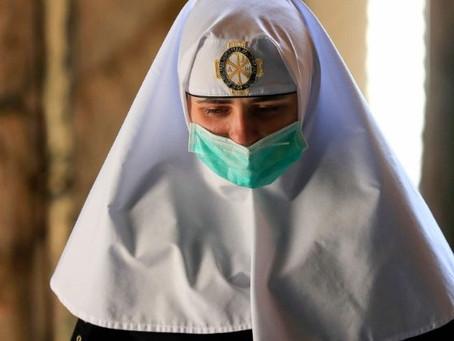A igreja contra o covid-19: Iniciativas da Igreja  católica em todo o mundo diante da pandemia