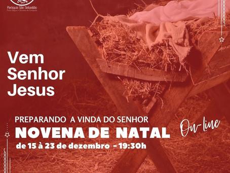 Novena de Natal Online - Preparando a vinda do Senhor