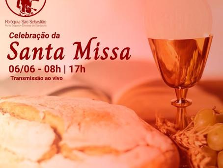06/06/2021 - Santa Missa do X Domingo do Tempo Comum