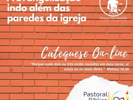 Catequese On-Line: Evangelização além das paredes da igreja