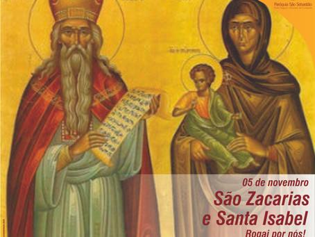 São Zacarias e Santa Isabel, Rogai por nós!