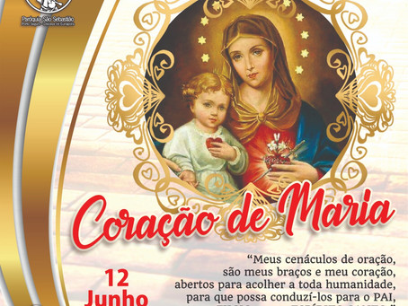 11/06 Dia do Imaculado Coração de Maria