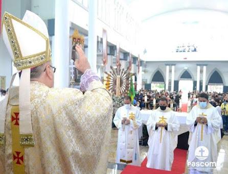 Abertura do Sínodo 2021-2023 na Diocese de Eunápolis -BA