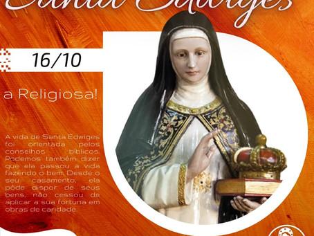 16/10 - Santo do Dia: Santa Edwiges