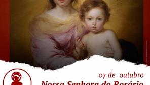 07/10/21-  Dia de Nossa Senhora do Rosário