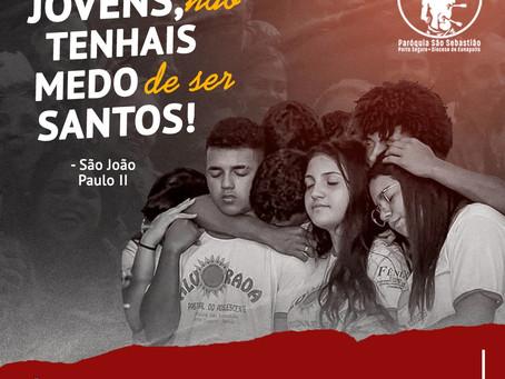 13/04: Dia do Jovem - Homenagem ao Grupo Jovem Alvorada