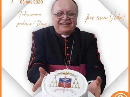 Aniversário natalício de Dom José Edson - Bispo Diocesano de Eunápolis
