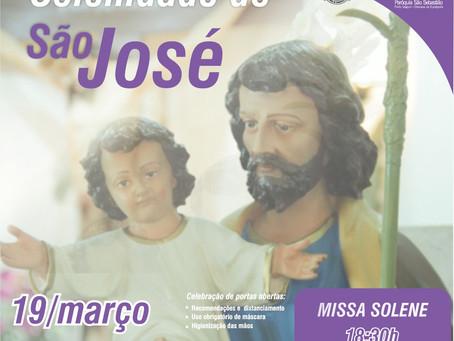 19 de março - Solenidade de São José