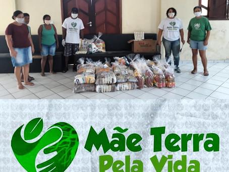 Igreja em Ação - Pastoral da criança recebe doação de cestas básicas em prol das famílias assistidas