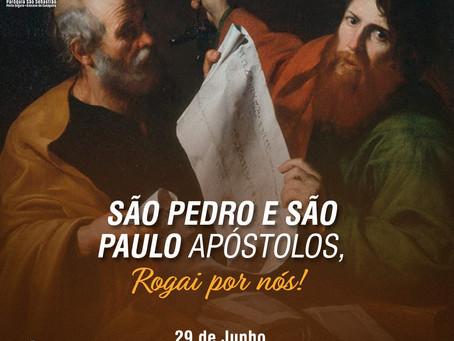 29/06 - Dia de São Pedro e São Paulo