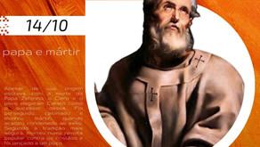 14/10 - Santo do Dia: São Calisto I