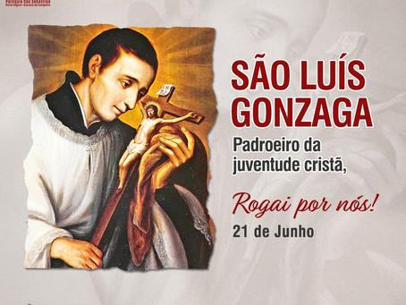 São Luiz Gonzaga - Padroeiro da Juventude Cristã