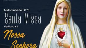 02/10 - Santa Missa dedicada a Nossa Senhora