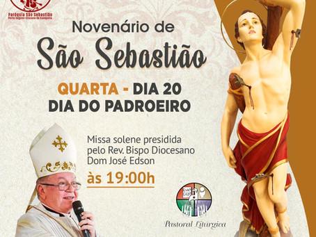 20/01 - Dia Solene do Padroeiro São Sebastião