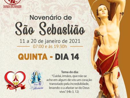 14/01/2021  -  4º dia do Novenário de São Sebastião
