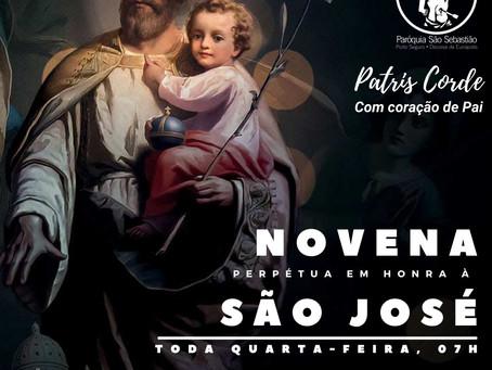 16/06/21 - Novena Perpétua de São José