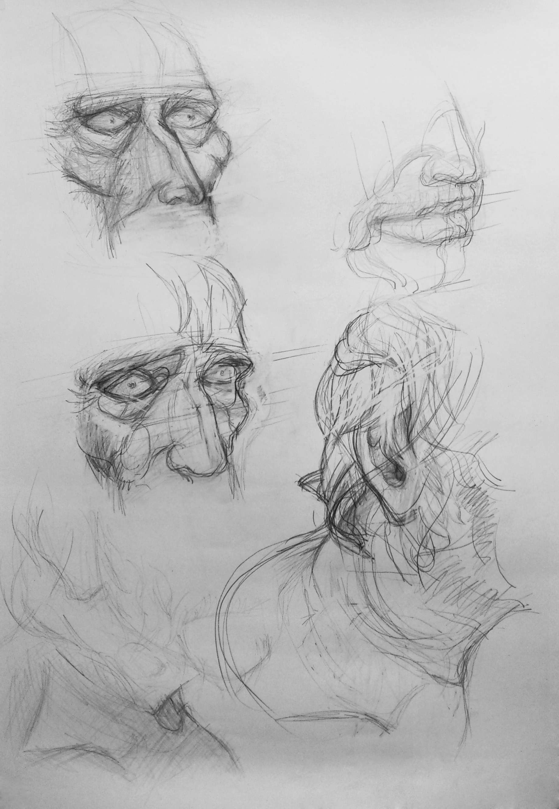 Body parts: face