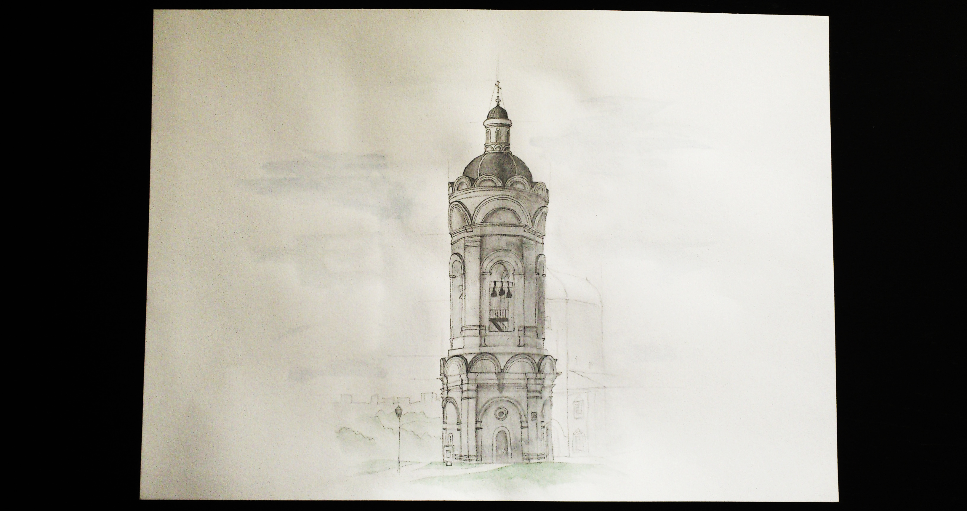 Chapel (watercolor)