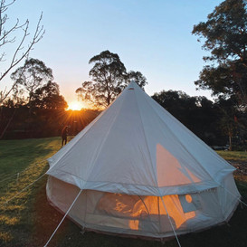 Sunsets dont get better than Glamping