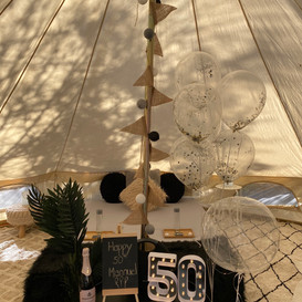 Gorgeous Tall Bell Tent