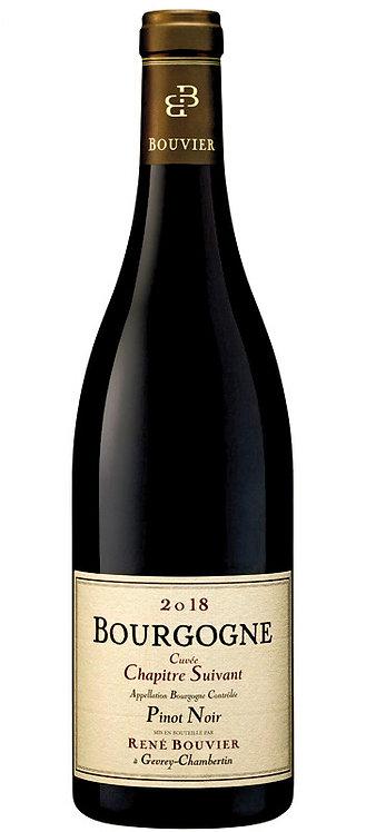 """René Bouvier Bougogne Pinot Noir  """"Chapitre Suivant"""" 2018"""