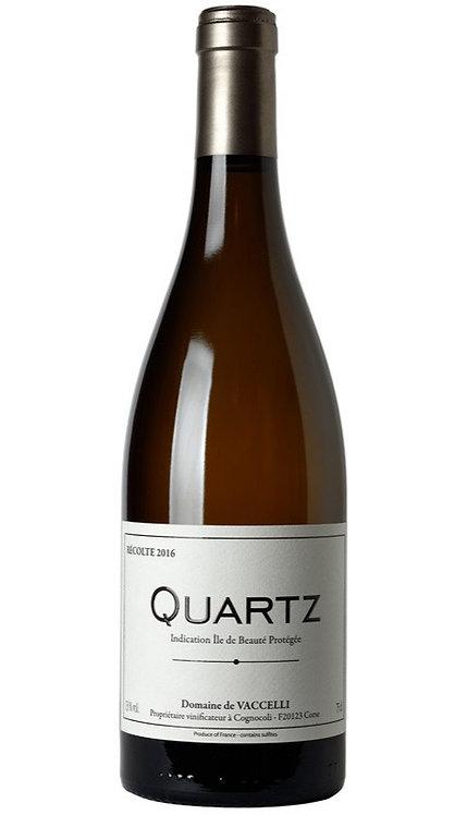 """Vaccelli, """"Quartz"""" Blanc 2018"""