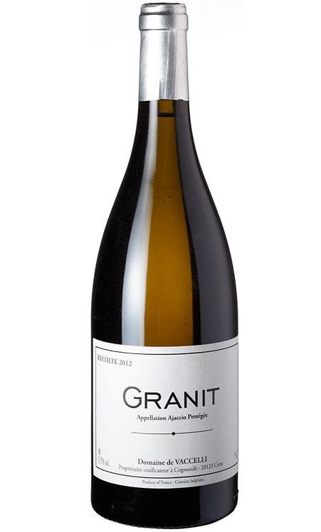 "Vaccelli, ""Granit"" Blanc 2018"