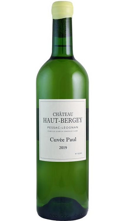 "Château Haut-Bergey Pessac-Leognan ""Paul"" Blanc  2019"