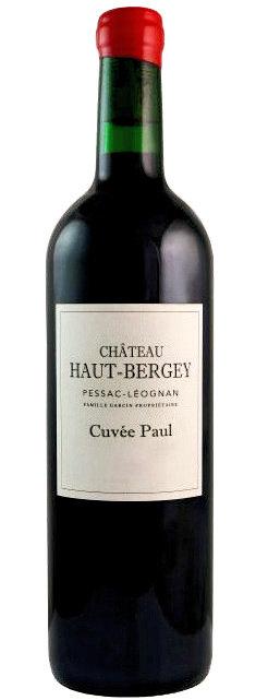 "Château Haut-Bergey Pessac-Leognan ""Paul"" Rouge  2018"