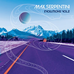 MAX SERPENTINI - EVOLUTIONS VOL.2 ALBUM COVER