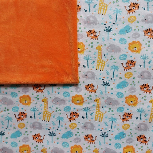 Doudou câlins et soins girafes/orange