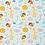 Thumbnail: Doudou câlins et soins girafes/turquoise