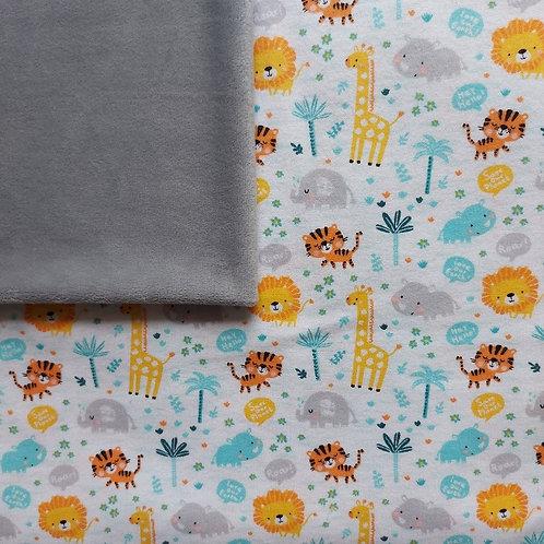 Doudou câlins et soins girafes/gris