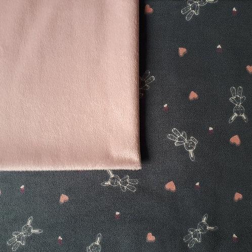 Doudou câlins et soins Lapinous / rose