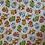 Thumbnail: PERSONNALISÉE: Doudou câlins et soins forêt blanc/jaune