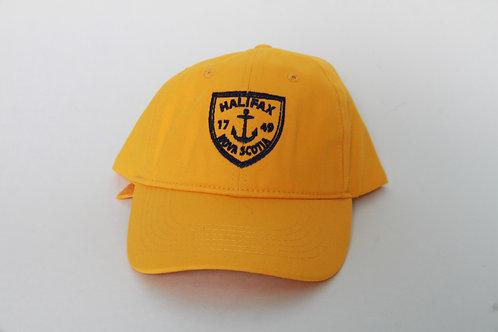 Mustard Anchor Ball Cap