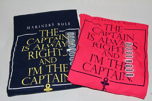 Mariner's Rule Adult Tee