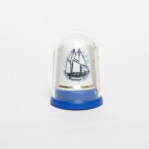 Porcelain Bluenose II Thimble