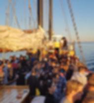 Sailing aboard the Tall Ship Silva