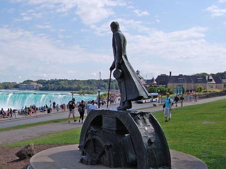 Nikola Tesla Statue | Nikola Tesla & Niagara Falls