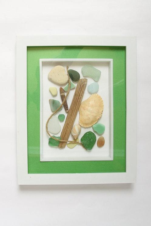 Framed Beach Treasure